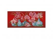 Схема вышивки бисером «Нежная орхидея» (30x50)