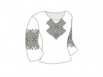 Заготовка женской блузы «Бабушкин сундук»