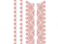 Вставки для детской сорочки «с-251 Ч»