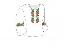 Заготовка женской блузы «Калиновая судьба»