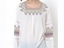 Заготовка женской блузы «Рассветная 155-1»
