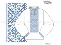 Заготовка мужской сорочки для вышивки бисером «Орнамент 525»  РАСПРОДАЖА