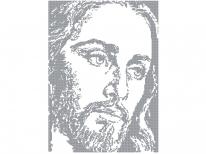 Схема вышивки бисером «Иисус /6036/» (40x45)