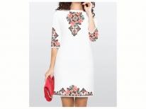 ea88ed666c764a Заготовки для жіночої сукні бісером - заготовка сукні бісером
