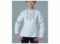 Заготовки дитячих блузок бісером - заготівля дитячої блузки бісером b551d44a99a95
