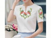Заготовка жіночої блузи «Трояндова пісня 199» 97bccb2571a47